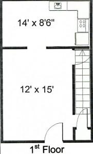 Bernard Townhouse Floor 1