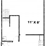 Colonies 3 Bedroom Townhouse Floor 1