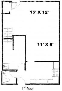 Colonies 3 Bedroom Townhouse Floor 1