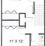 Colonies 2 Bedroom Townhouse Floor 2